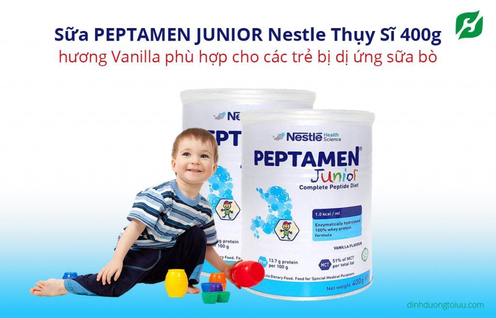 Sữa PEPTAMEN JUNIOR Nestle Thụy Sĩ 400g