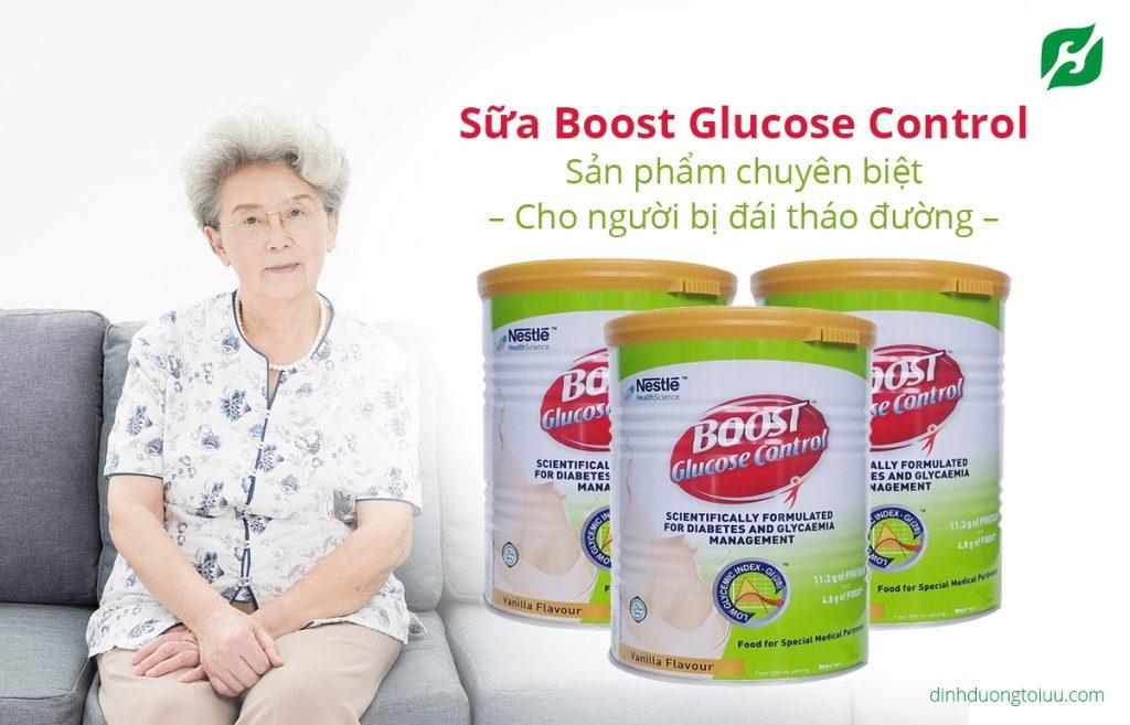 Sữa Boost Glucose Control - sản phẩm chuyên biệt dành cho người đái tháo đường