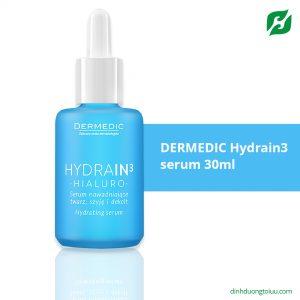 DERMEDIC Hydrain3 serum 30ml - Serum cấp ẩm dành cho làn da khô