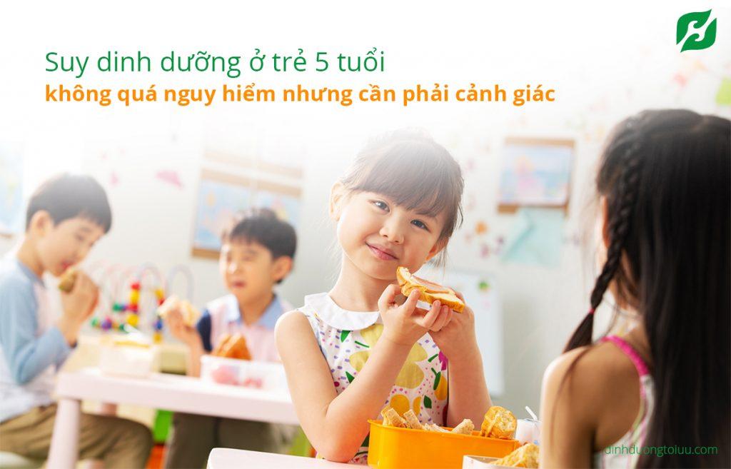Thực đơn cho trẻ suy dinh dưỡng 5 tuổi như thế nào hợp lý?
